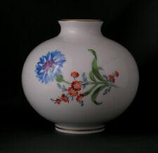 Hübsche Vase mit Blumen, Meissen, 1. Wahl