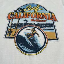 Hollister Surf California Hollister Thermal Long Sleeve Bright Graphics Large