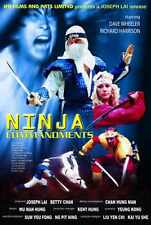 Ninja Commandments Poster 01 Metal Sign A4 12x8 Aluminium