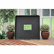 Garland G45B Square Garden Tray 60 X 60 cm - Black