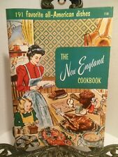 LN 1956 The New England Cookbook Culinary Arts Institute  CT ME MA NH RI Vermont