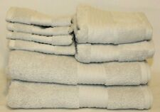 Ralph Lauren Greenwich Spa Grey Eight Piece Bathroom Towel Set New