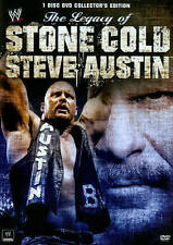 WWE -  Legacy of stone cold steve austin (DVD, 2014)