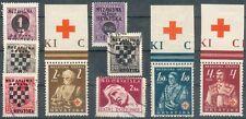 Kroatien Lot mit 9 Werten o,*