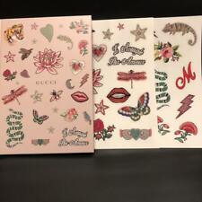 f81c18735c646a GUCCI Notebook   Sticker 2 Sheets Magazine Numero Tokyo Free Gift New
