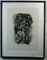Emil Schumacher: Komposition Ohne Titel,1960, Lithografie, handsigniert, 39/80