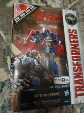 Premier Edition Transformers Optimus Prime Toys R Us Exclusive Voyager Class