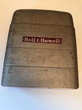 BELL & HOWELL 8MM METAL FILM PROJECTOR Front Cover Gray /Silver Parts/Repair
