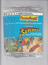 1979 Presto Magix Superman set (#1,2,3,4,5,6)