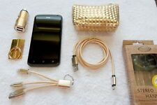 HTC ONE XL * 32GB GOLD Edition * NEU + XXL EXTRAS * 4,7Zoll * Android LTE NFC