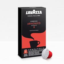 200 capsule caffè LAVAZZA miscela espresso ARMONICO compatibili Nespresso cialde