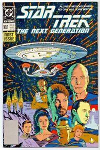 DC Comics STAR TREK The Next Generation Key First Issue Edition 1989 GC