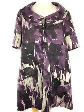 Simply Vera Vera Wang women's dress short sleeves purple size M