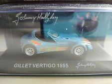 Voiture Johnny Hallyday GILLET VERTIGO 1995 n°3 Neuf 1/43