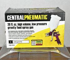 Central Pneumatic 47016 20oz High Volume Low Pressure Gravity Feed Air Spray Gun