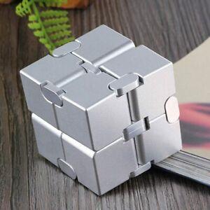 Premium Metal Infinity Cube