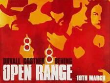 OPEN RANGE Movie POSTER 27x40 UK Robert Duvall Kevin Costner Annette Bening