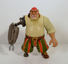 "RARE 2002 Cyborg John Silver 5"" Hasbro Action Figure Disney Treasure Planet"