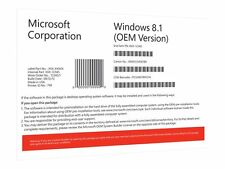 Microsoft Windows 8.1 32bit COEM Vollversion