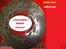 2 DISCHI FRENO ANTERIORI BREMBO 68B407A5 HONDA XL V TRANSALP / ABS 700 2008 2009