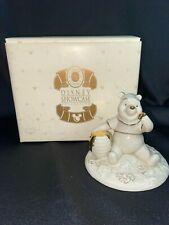 Lenox Pooh'S Sticky Situation Disney Showcase Limited Edition With Box