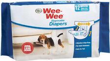 Four Paws Wee Wee Disposable Dog DIAPER   MEDIUM  12 Pak