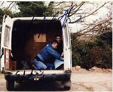 [2793] Eddie Marsan Martin Compston Signed 8x10 Photo AFTAL