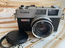Canon Canonet QL17 GIII Near Mint CLA'd New Light Seals 1.5v Calibrated + Extras