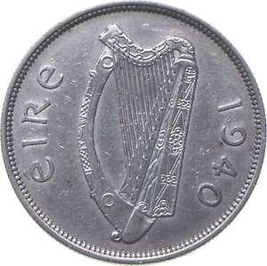 Better - 1940 Ireland 1/2 Coroin - TC *530
