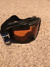 Scott USA Blue Frame Amplifier Lens Tint Heli OTG Snow Goggles