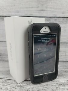 Apple iPhone 5, White, 16 gb, PASSWORD LOCKED, SOLD FOR PARTS, AS IS