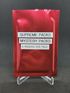 Baseball Cards - Supreme Mystery Packs - Rookie Edition - 5 Rookies Per Pack