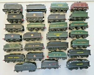 White metal & diecast tenders collection-  spares repairs restoration only