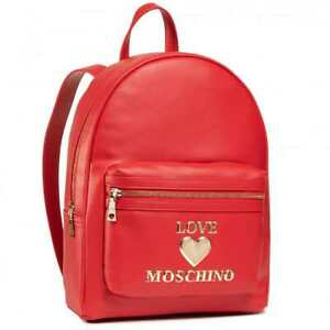Original LOVE MOSCHINO Backpack Female Red - JC4060PP1CLF0500