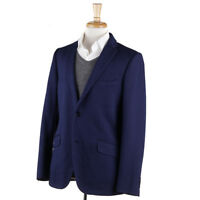 NWT $1495 ETRO Navy Blue Knit Jersey Cotton Sport Coat with Silk Lining 42 R