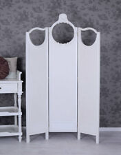 Partition White Dressing Country Style Screen Divider Screen
