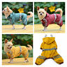 Pet Rain Coat for Small Puppy Dogs Rainwear Cute Casual Waterproof Dog Clothes