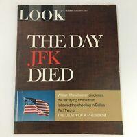 VTG Look Magazine February 7 1967 John F. Kennedy Death Feature, Newsstand