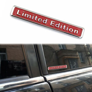 3D Metal Limited Edition Auto Car Sticker Badge Decal Motorcycle Sticker Emblem