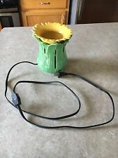 Partylite Tuscan Sunflower Aroma Melts Warmer Electric RARE! Gently used