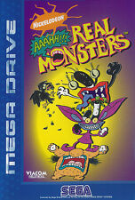 # Sega Mega Drive-Aaahh!!! Real monsters-Top/MD juego #