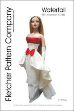 "Waterfall Doll Clothes Sewing Pattern for 22"" American Model Tonner"