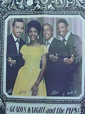 Vintage Poster The Way We Were Gladys Knight and Pips