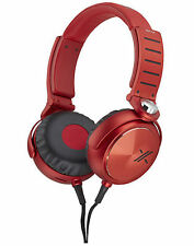 MDR-X05/BR  BRAND NEW SONY Simon Cowel  MDRX05/BR X Headphone Black/Red