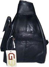 Leather backpack knapsack rucksack Leather bag small backpack new mini back pack