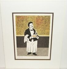 """GUY BUFFET """"MICHAEL 2/4 SUITE"""" LIMITED SIGNED LITHOGRAPH"""