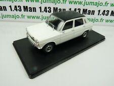 VQ18 Voiture 1/24 SALVAT Models : SIMCA 1200 (1100) SPECIAL 1973 toit vinyl