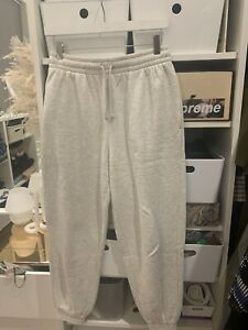 Topshop Petite Grey Marl Joggers Size S