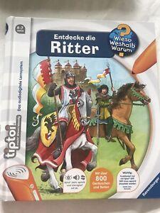 """Tiptoi Wieso? Weshalb? Warum?: """"Entdecke die Ritter"""", Guter Zustand"""