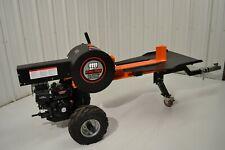 34-Ton Log Wood Splitter Horizontal Kinetic Rapid Fire Quick 6.5 hp Gas Engine